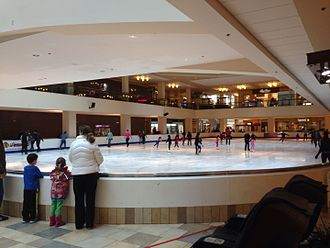 Tonya Harding - Ice Chalet at Portland's Lloyd Center, where Harding began skating at age four