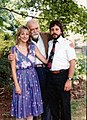 Igal Roodenko with niece Amy Zowniriw and her husband Mike Zowniriw 1987.jpeg