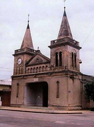Sarandí del Yí - The church of Sarandí del Yi