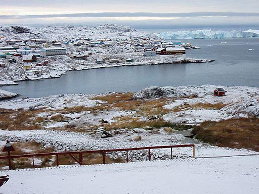 Ilulissat Greenland - snowy