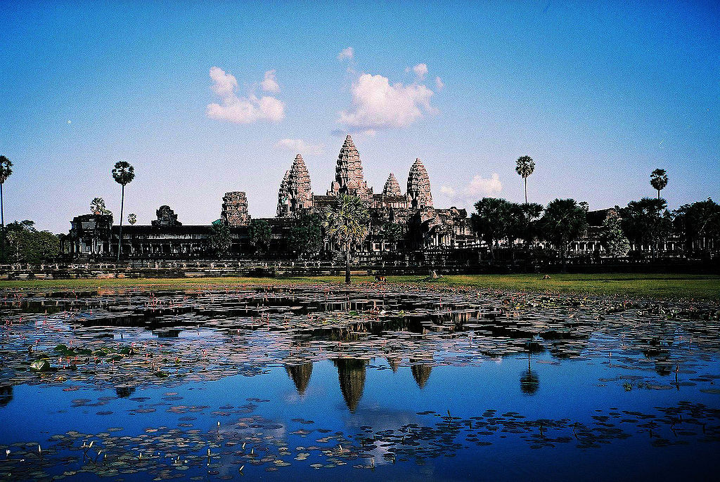 Image-Angkor Wat from north pond 2