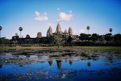 Image-Angkor Wat from north pond 2.JPG