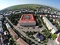 Imagine aeriană a Palatului de Justiţie (vedere dinspre strada Mihai Viteazu).JPG