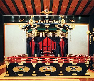 Throne of the Emperor of Japan
