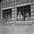 In het strafkamp te Vught, zijn 7000 Nederlandse collaborateurs en landverraders, Bestanddeelnr 900-4259.jpg