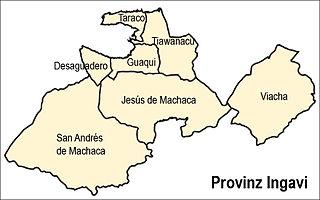Jesús de Machaca Municipality Municipality in La Paz Department, Bolivia