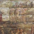 Interieur koor, gewelfschilderingen, vak 2, detail, na restauratie - Warmenhuizen - 20356230 - RCE.jpg
