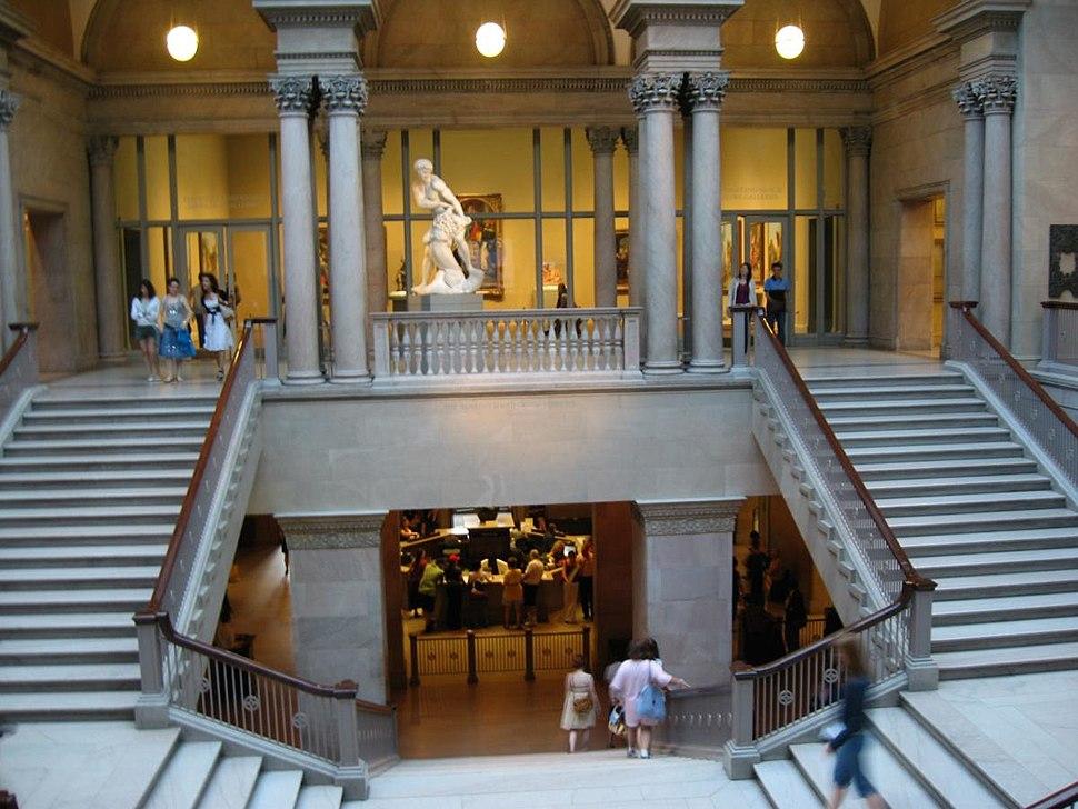 Interrior view, Art Institute of Chicago