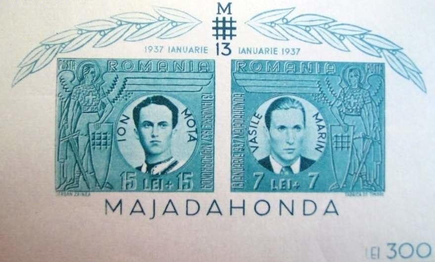 Ion Mota si Vasile Marin
