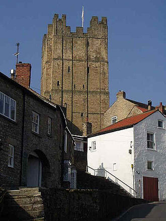 Richmond, North Yorkshire - Richmond Castle