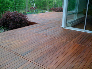 English: IPE Deck Stain