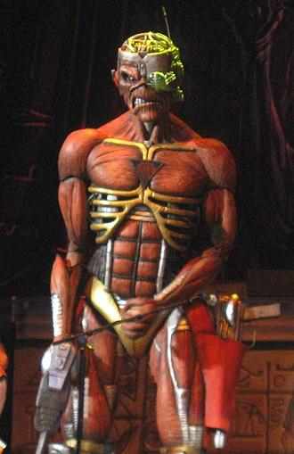 Eddie the Head - Image: Iron Maiden's Eddie 1