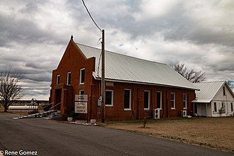 National Register of Historic Places listings in Jefferson County, Oklahoma - Image: Irving Baptist Church 1 (1 of 1)
