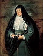 Isabella Clara Eugenia as a nun