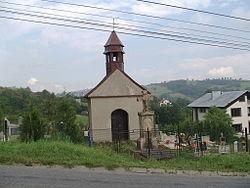 Cmentarz katolicki, widok w stronę Koniakowa