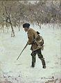 Ivan Pohitonov Ohotnik zimoy 1890.jpg