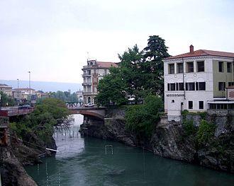 Dora Baltea - The river at Ivrea