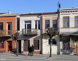 Izbica - Row tenements in Izbica