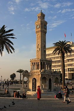 Clock Tower at Konak Square