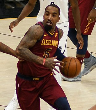 J. R. Smith - Smith with the Cavaliers in February 2018