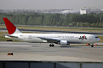 JA651J - Japan Airlines - Boeing 767-346(ER) - PEK (14249688692).jpg