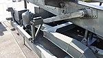 JASDF Nike-J missile launcher strut arm at Hamamatsu Air Base Publication Center November 24, 2014 02.jpg