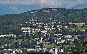 Jacob-Bellecombette - Panoramic sight of the commune.