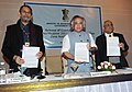 Jairam Ramesh releasing the report of Coastal Regulation Zone (CRZ) Notification, 2011 and Island Protection Zone (IPZ) Notification, 2011, in New Delhi on January 07, 2011.jpg