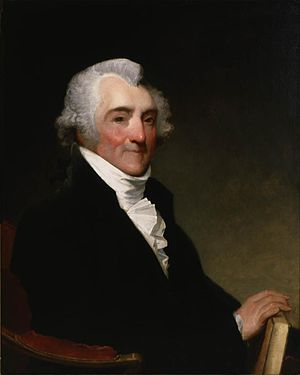 James Sullivan (governor) - Portrait by Gilbert Stuart