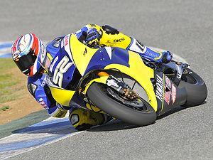James Toseland - James Toseland riding the Yamaha Tech 3 M1