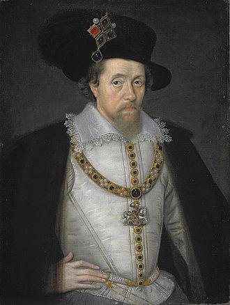 Scottish Americans - James VI and I, c. 1604