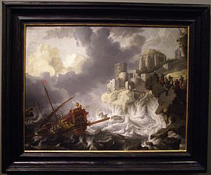 Jan Peeters Okrety na morzu.jpg