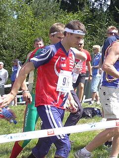 Jan Procházka (orienteering) Czech orienteering competitor