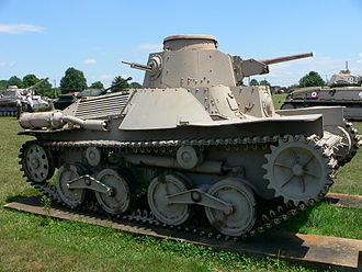 Type 95 Ha-Go - Type 95 Ha-Gō on display at the United States Army Ordnance Museum