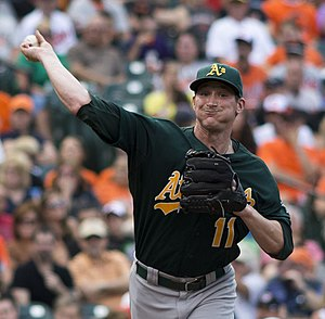 Jarrod Parker - Parker with the Oakland Athletics