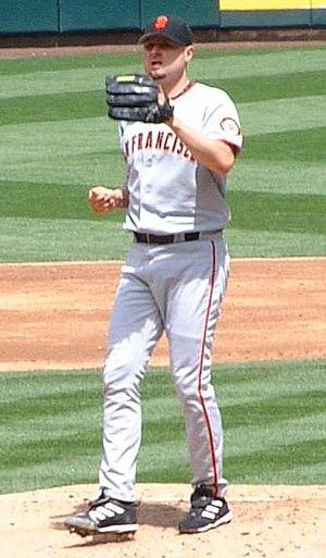 Jason Schmidt - Schmidt pitching for the San Francisco Giants in 2006