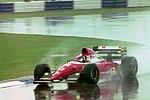 Jean Alesi - Ferrari F93A during practice for the 1993 British Grand Prix (33686710835).jpg