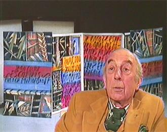 Jean Cortot - Jean Cortot (screenshot of a video from the audiovisual Encyclopedia of Contemporary Art)