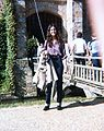 Jeanne outside Hever Castle 1979.jpg