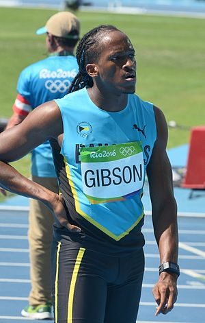Jeffery Gibson - Gibson at the 2016 Olympics