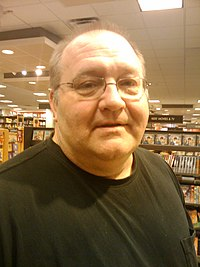 Jeffrey Ford at Borders Bookstore in 2009.