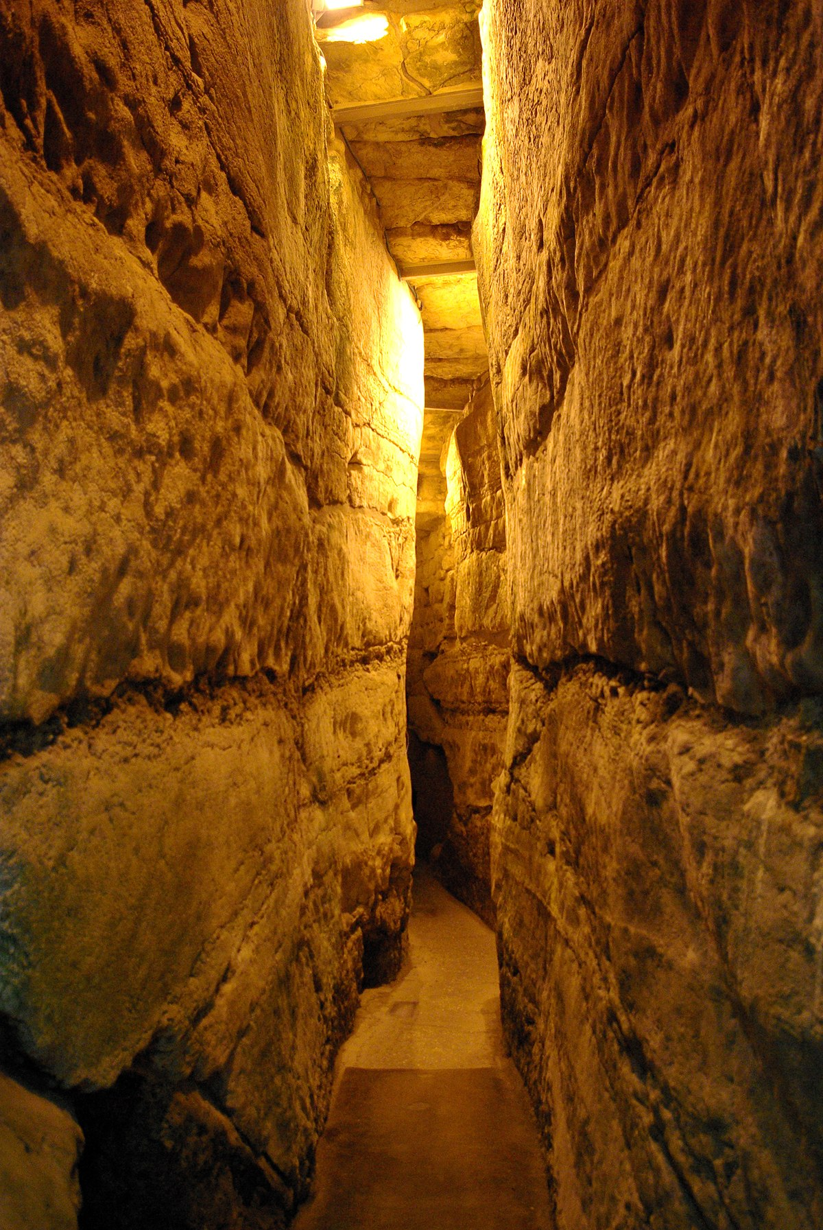 Western Wall Tunnel - Wikipedia