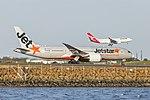 Jetstar Airways (VH-VKG) Boeing 787-8 Dreamliner at Sydney Airport (1).jpg