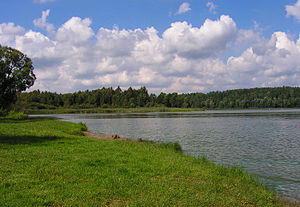 E11 European long distance path - Lakes and rivers characterize the lower areas along E11
