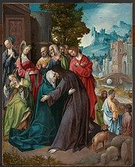 Christ prenant congé de sa Mère