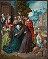 Jezus neemt afscheid van Maria Rijksmuseum SK-A-1719.jpeg