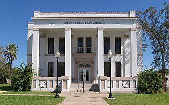 Jim Hogg County, Texas - Image: Jim hogg county courthouse