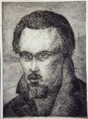 Jože Gorjup - Avtoportret (etching).png