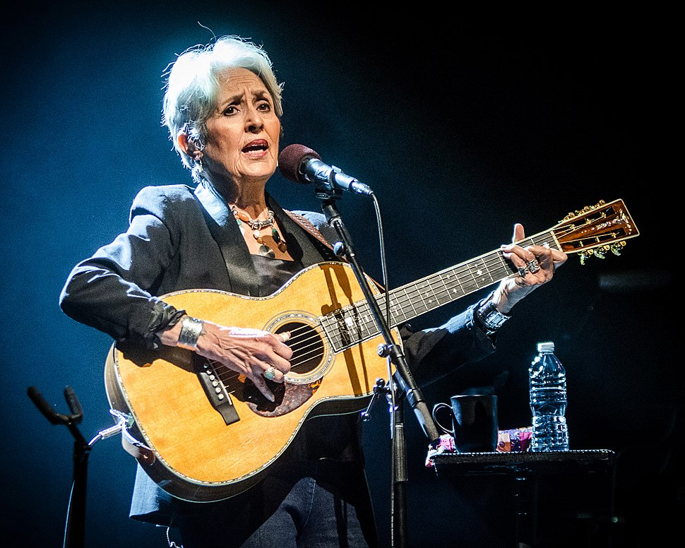 Joan Baez at the The Egg (Albany, NY), March 2016