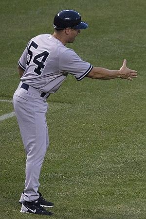 Joe Espada - Espada with the New York Yankees